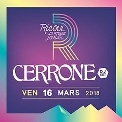 Billets CERRONE DJ SET /  RISOUL MUSIC FESTIVAL