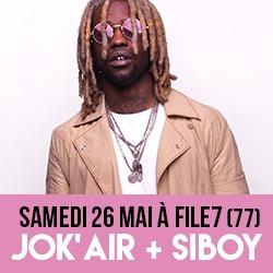 Billets JOK'AIR + SIBOY