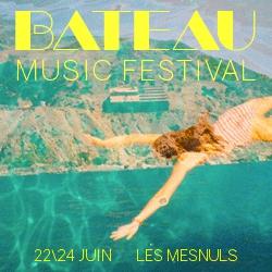 Billets BATEAU MUSIC FESTIVAL 2018