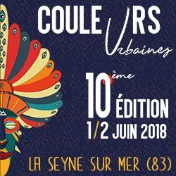 Billets FESTIVAL COULEURS URBAINES 10ème édition