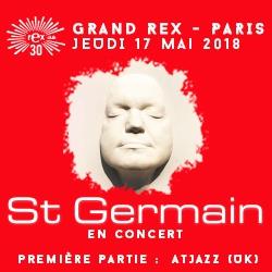 Billets St Germain - 30 ans Rex Club