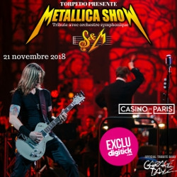 Billets METALLICA S&M TRIBUTE