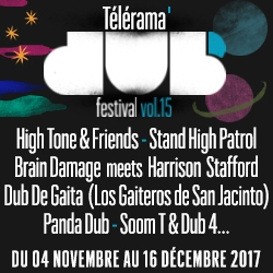 Billets Télérama Dub Festival #15