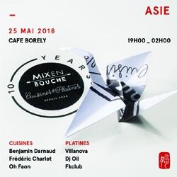"""Billets Mix en Bouche 10 years """" Asie"""""""