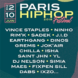Billets FESTIVAL PARIS HIP HOP 2018
