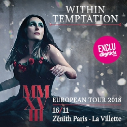 Billets WITHIN TEMPTATION