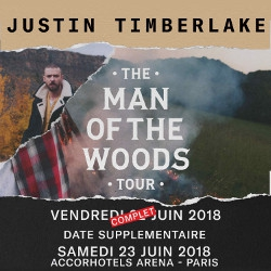 Billets JUSTIN TIMBERLAKE - The Man of the Woods Tour