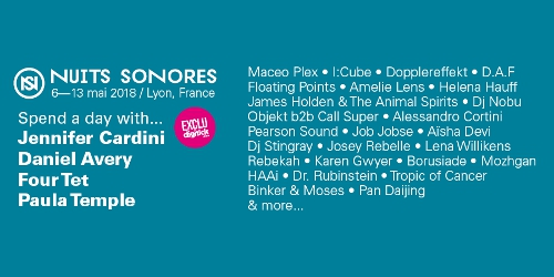 Billets NUITS SONORES 2018